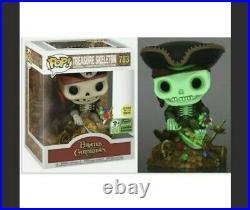 Funko POP! Pirates of the Caribbean Treasure Skeleton ECCC Exclusive Lotto Win