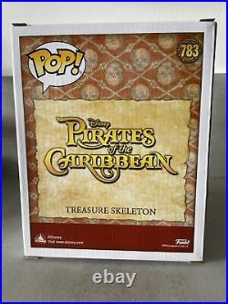 Funko Pop! 783 Treasure Skeleton Pirates Of The Caribbean