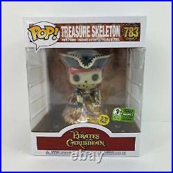 Funko Pop Pirates of The Caribbean Treasure Skeleton 2021 ECCC LE 4000 Disney