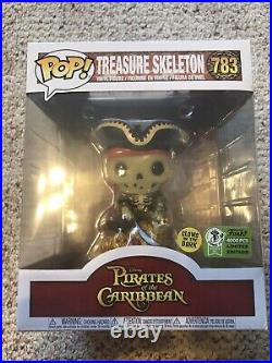 Funko Pop! Treasure Skeleton Glow in the Dark #783 ECCC 2021 Official Sticker