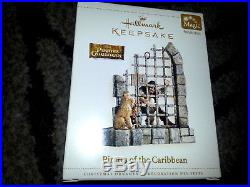 HALLMARK Keepsake 2006 PIRATES OF THE CARIBBEAN Jack Sparrow DISNEY Ornament NEW