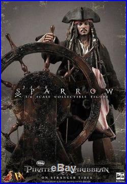 HOT TOYS JACK SPARROW DX06 Pirates of the Caribbean 1/6 Figure SEALED CARTON UK