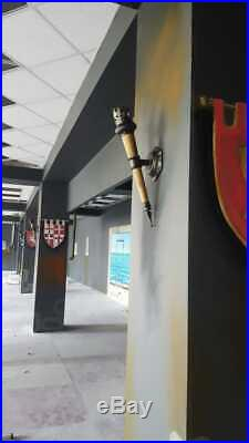 Handmade Medieval Candle Wall Sconce 21,65 Long, Torch Wall Sconce