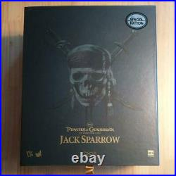 Hot Toys 1/6 DX 06 Captain Jack Sparrow Pirates Of The Caribbean Figure Doll