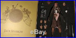 Hot Toys DX06 Pirates Of The Caribbean Captain Jack Sparrow 1/6 Scale Figure