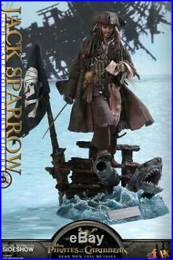 Hot Toys DX15 Jack Sparrow Pirates of the Caribbean action Figure B. Box ULTIMO