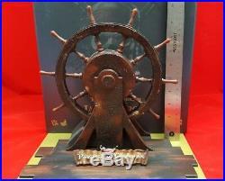 Hot Toys Disney DX06 POTC Captain Jack Sparrow 16 ship Rudder wheel Diorama