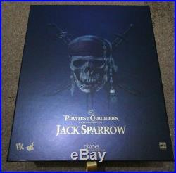 Hot Toys Dx06 Jack Sparrow Pirates Of The Caribbean Depp Mint