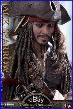 Hot Toys JACK SPARROW Pirates of the Caribbean 1/6 Figure DX15 Dead Men No Tales