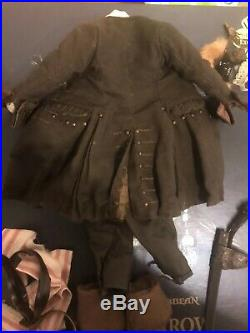 Hot Toys MMS DX06 Pirates Of The Caribbean POTC Jack Sparrow Pirate Clothing Set