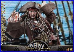 Hot Toys Pirates of the Caribbean Dead Men TNT 1/6th Jack Sparrow Figure DX15