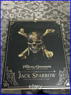 Hot Toys Pirates of the Caribbean Dead Men Tell No Tales Jack Sparrow Action