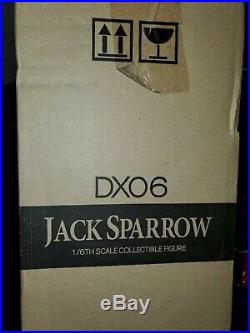 Hot Toys Sideshow Exclusive DX06 1/6 Jack Sparrow Pirates of the Caribbean NIB