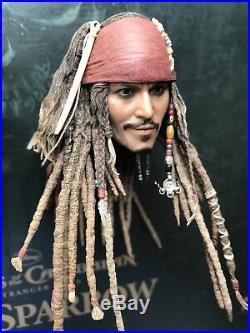 Hot toys DX06 Pirates of the Caribbean Captain Jack Sparrow 1/6 Captain Head