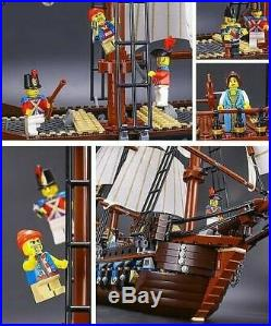 Imperial Flagship Pirates 10210 UA 22001 Edu Gift Toy Set Fast Shipping