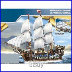 Imperial Flagship Pirates of the Caribbean Big movie Building toys 22001 no box