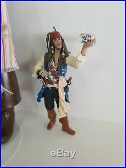 Jack Sparrow Doll Barbie Pirates Of The Caribbean Johnny Depp & Mini Jack TOO