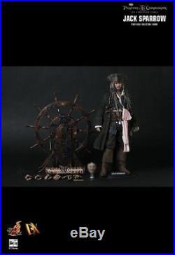 Jack Sparrow Pirates of the Caribbean On stranger tides DX06 Hot Toys
