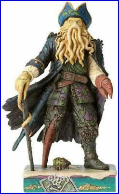 Jim Shore Disney Davy Jones Pirates of the Caribbean Figure 4056759 Figure RARE