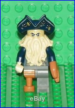 LEGO 4184 Pirates of the Caribbean Davy Jones Minifig / Mini Figure