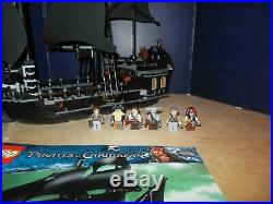 LEGO 4184 THE BLACK PEARL Pirates of the Caribbean ship 100% with Manual & Figs