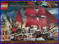 LEGO 4195 PIRATES OF THE CARIBBEAN QUEEN ANNE'S REVENGE Parts Ship & Sails