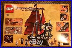 LEGO 4195 Pirates of the Caribbean Queen Anne's Revenge BRAND NEW SEALED