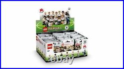 LEGO 71014 The German Soccer Team CASE 60 MINIFIGURES PACKS SEALED BROWN BOX