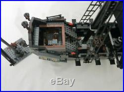 LEGO Pirates Of Caribbean #4184 The Black Pearl 100% Complete withManuals Minfigs