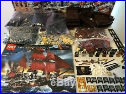 LEGO Pirates Of The Caribbean Queen Anne Revenge 4195 with box & instructions
