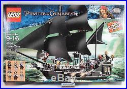 LEGO Pirates of The Caribbean 4184 Black Pearl 804 pcs Sealed NISB Davy Jones