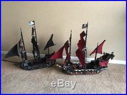 LEGO Pirates of the Caribbean 4184 Black Pearl PLUS 4195 Queen Anne's Revenge
