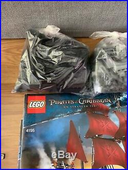 LEGO Pirates of the Caribbean Queen Anne's Revenge 4195 + 4182