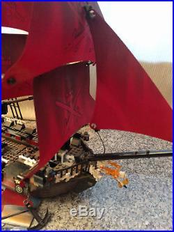 LEGO Pirates of the Caribbean Queen Anne's Revenge (4195) Inc Manuals, No Box