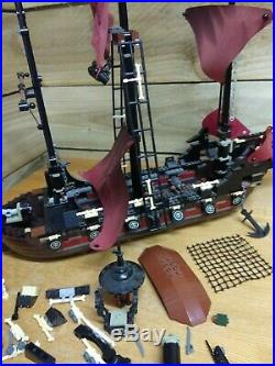 LEGO Pirates of the Caribbean Queen Annes Revenge 4195 + figures incomplete