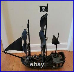 LEGO Pirates of the Caribbean The Black Pearl 4184. Retired. Mostly Complete