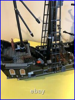 LEGO Pirates of the Caribbean The Black Pearl 4184 Retired Partial see descript