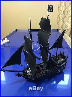 LEGO The Black Pearl Pirates Of The Caribbean 4184 With Box