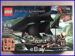 LEGO The Pirates of The Caribbean The Black Pearl Set 4184 Brand New Sealed Box