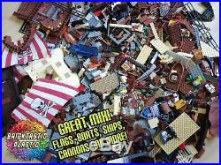 LEGO (x3400pcs) 4KG Pirates Caribbean Bulk Moc/ Packs Ship Parts Guaranteed