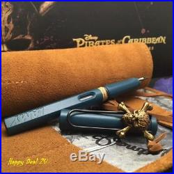 Lamy Safari Pen Petrol Blue Pirates of the Caribbean collection Extra Fine Nib