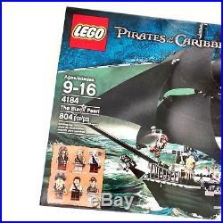 Lego #4184 BLACK PEARL Pirates of the Caribbean Sparrow Davy Jones Disney NIB
