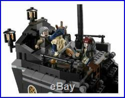 Lego 4184 Disney Pirates Of The Caribbean Black Pearl Ship Jack Sparrow