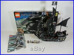 Lego 4184 Disney Pirates of the Caribbean The Black Pearl Ship Set COMPLETE Box