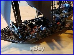 Lego 4184 Pirates of the Caribbean The Black Pearl 98% Complete with Instruction