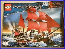 Lego 4195 Pirates Of The Caribbean Queen Anne's Revenge USED COMPLETE NO BOX