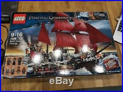 Lego 4195 Pirates Of The Caribbean Queen Anne's Revenge Used Complete 100%