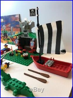 Lego 6262 Pirates Islanders King Kahuka's Throne 141pcs 1994 100% Complete