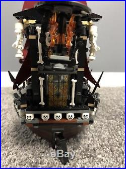 Lego Complete Set 4195 Pirates Of The Caribbean Queen Annes Revenge With Minifigs