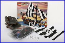 Lego Pirates I Set 6268-1 Renegade Runner 100% complete + instructions 1993